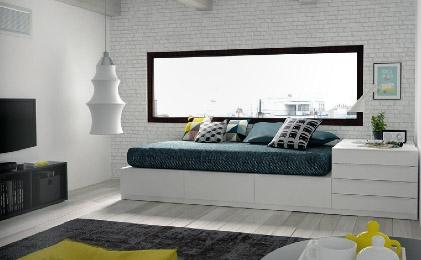 Dormitorio juvenil tienda de muebles e interiorismo - Ideas para decorar tu habitacion juvenil ...