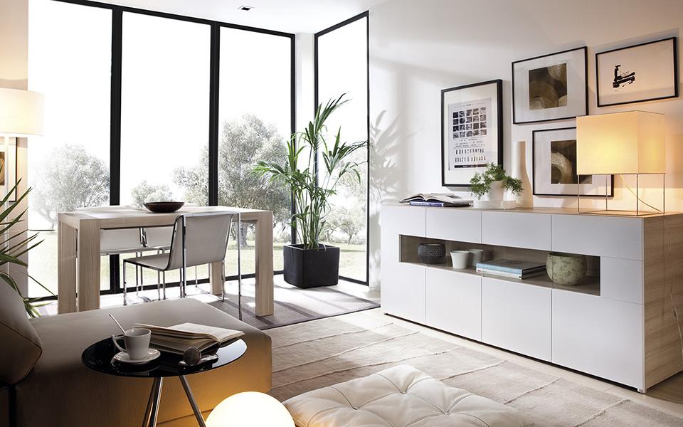 Salones y comedores tienda de muebles e interiorismo for Catalogo de comedores